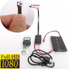 1080p Mini Hidden Camera Cord With Remote Control