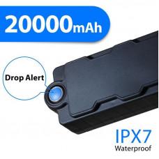 309-01 genişləndirilmiş batareya həyat ilə GPS / GPRS Tracker 20000 mah