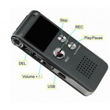 427-D Professional voice recorder 8GB with the ability to record telephone conversations audio notes