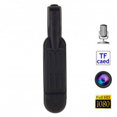 Professional dictaphone with camera Full HD 1080p