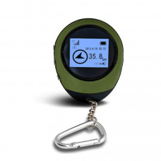 530-74 FOB keychain tracker with the function of determining the coordinates