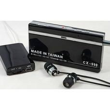 Cx990 Spy Bug Receiver Listening Device Wireless HD Voice Transmission Mp3 Play