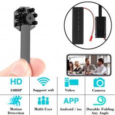 Mini Portable WIFI Camera Cord with Night Vision