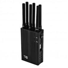 TX-100W 10 Antenna CDMA GSM DCS 3G 4G 5G WIFI Frequency Jammer