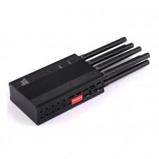 TX-M8 GSM DCS 3G 4G GPSL1+Glonass, GPSL2+BDS Long Distance Portable Jammer Interrupter