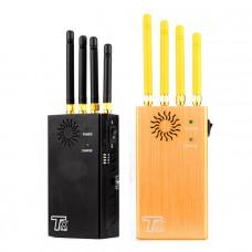 TX-N4 4 Antennas Portable GSM 3G DCS GPS Glonass Signal Jammer