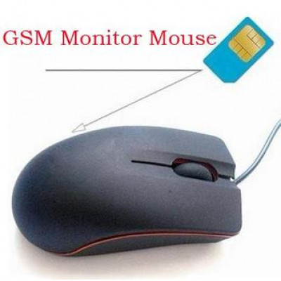 USB Mouse Style Hidden Tracker Voice monitor Spy