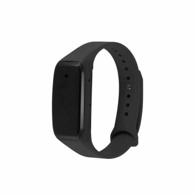 Build-in Wearable Full HD Camera Portable Smart Bracelet Camcorder for Video Photo Recording (Black) Wirst Band Sports Spycam Lens-Shielded Surveillance DVR